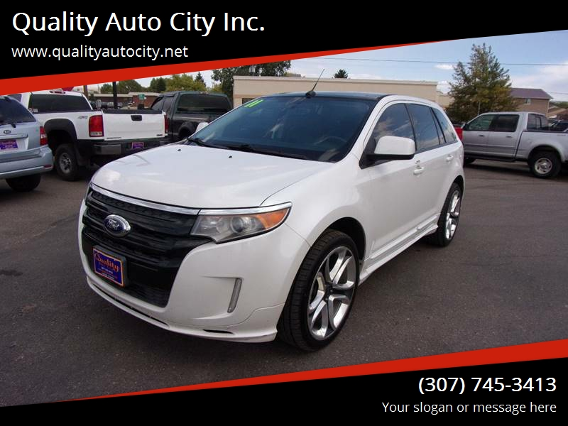 Ford Edge For Sale At Quality Auto City Inc In Laramie Wy