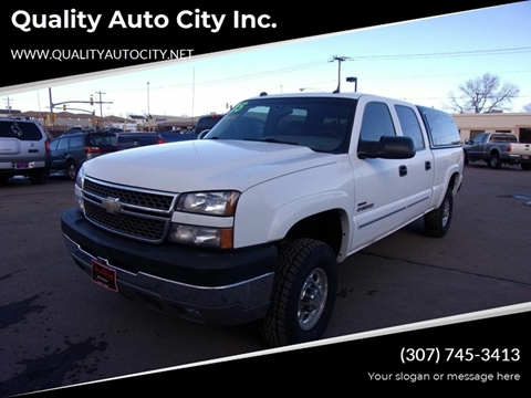 2005 Chevrolet Silverado 2500HD for sale at Quality Auto City Inc. in Laramie WY