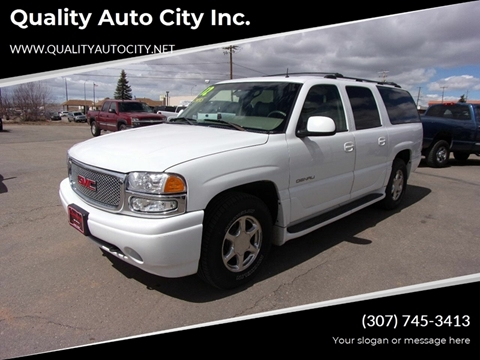 2002 GMC Yukon XL for sale in Laramie, WY