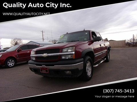 2005 Chevrolet Silverado 1500 for sale at Quality Auto City Inc. in Laramie WY