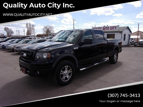 2008 Ford F-150 for sale at Quality Auto City Inc. in Laramie WY
