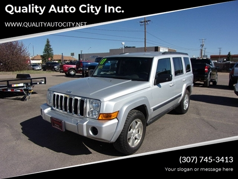2007 Jeep Commander for sale at Quality Auto City Inc. in Laramie WY