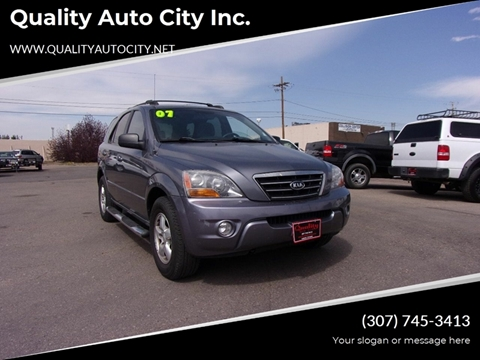 2007 Kia Sorento for sale at Quality Auto City Inc. in Laramie WY