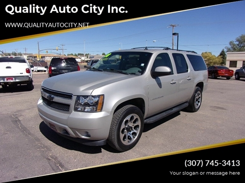 2008 Chevrolet Suburban for sale at Quality Auto City Inc. in Laramie WY