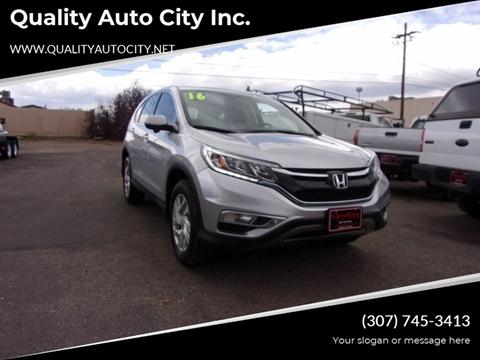 2016 Honda CR-V for sale at Quality Auto City Inc. in Laramie WY