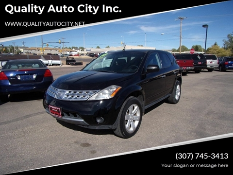 2007 Nissan Murano for sale at Quality Auto City Inc. in Laramie WY