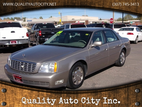 2004 Cadillac DeVille for sale at Quality Auto City Inc. in Laramie WY