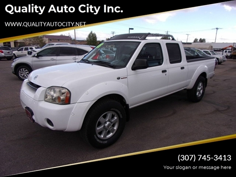 2003 Nissan Frontier for sale at Quality Auto City Inc. in Laramie WY