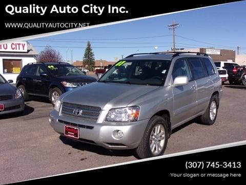 Toyota Of Laramie >> Used Toyota Highlander For Sale In Laramie Wy Carsforsale
