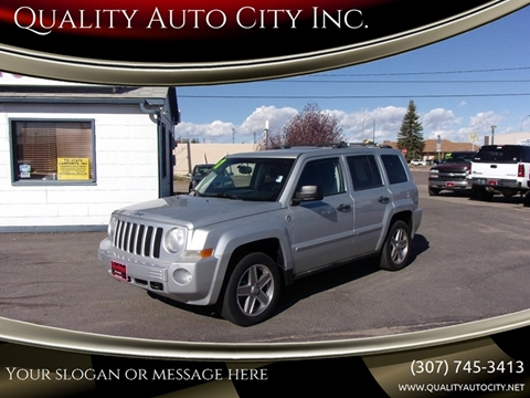 2007 Jeep Patriot for sale at Quality Auto City Inc. in Laramie WY