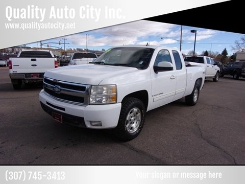 2009 Chevrolet Silverado 1500 for sale at Quality Auto City Inc. in Laramie WY
