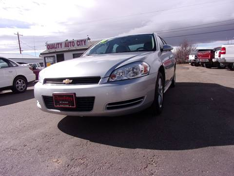 2010 Chevrolet Impala for sale at Quality Auto City Inc. in Laramie WY
