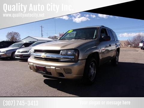 2007 Chevrolet TrailBlazer for sale at Quality Auto City Inc. in Laramie WY
