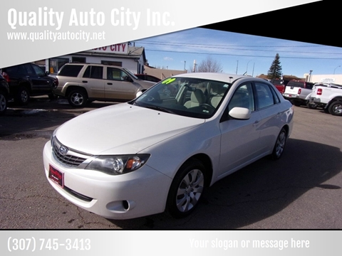 2009 Subaru Impreza for sale at Quality Auto City Inc. in Laramie WY