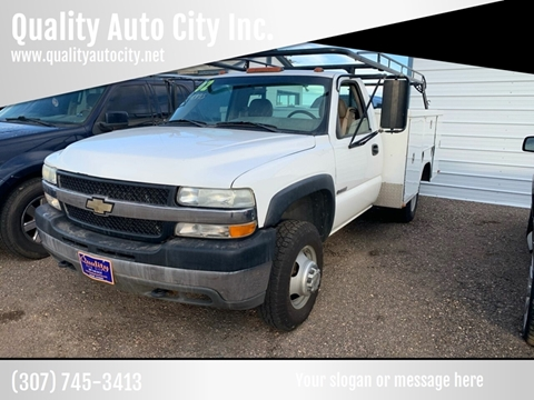 2002 Chevrolet Silverado 3500 for sale at Quality Auto City Inc. in Laramie WY