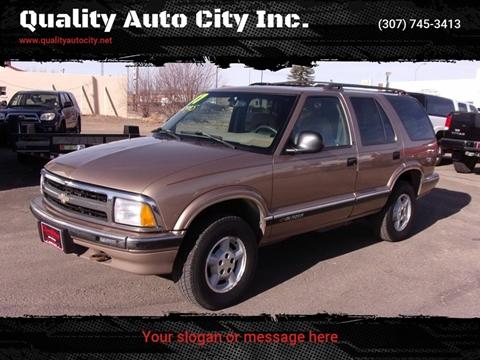 1997 Chevrolet Blazer for sale at Quality Auto City Inc. in Laramie WY