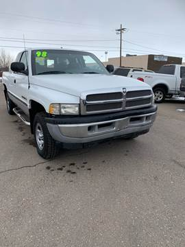 1998 Dodge Ram Pickup 1500 for sale at Quality Auto City Inc. in Laramie WY