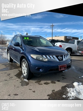 2009 Nissan Murano for sale at Quality Auto City Inc. in Laramie WY