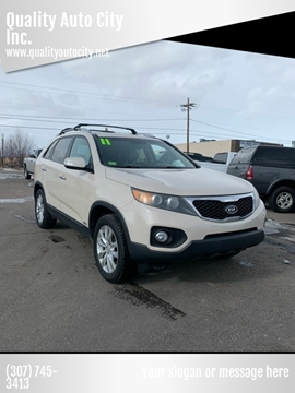 2011 Kia Sorento for sale at Quality Auto City Inc. in Laramie WY