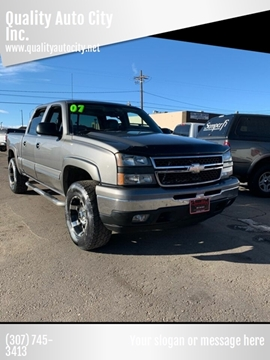 2007 Chevrolet Silverado 1500 Classic for sale at Quality Auto City Inc. in Laramie WY