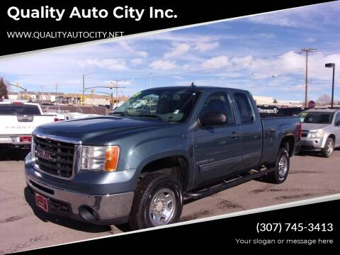 2009 GMC Sierra 2500HD for sale at Quality Auto City Inc. in Laramie WY