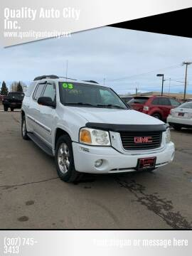 2003 GMC Envoy XL for sale at Quality Auto City Inc. in Laramie WY