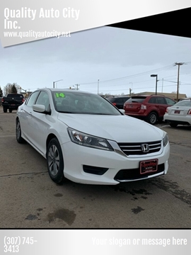 2014 Honda Accord for sale at Quality Auto City Inc. in Laramie WY