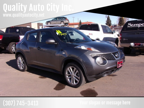 2011 Nissan JUKE for sale at Quality Auto City Inc. in Laramie WY