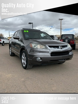 2008 Acura RDX for sale at Quality Auto City Inc. in Laramie WY