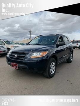 2009 Hyundai Santa Fe for sale at Quality Auto City Inc. in Laramie WY