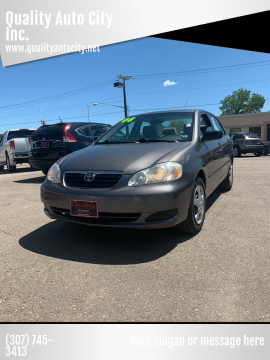2008 Toyota Corolla for sale at Quality Auto City Inc. in Laramie WY