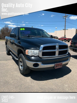 2005 Dodge Ram Pickup 1500 for sale at Quality Auto City Inc. in Laramie WY