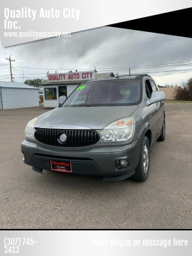 2004 Buick Rendezvous for sale at Quality Auto City Inc. in Laramie WY