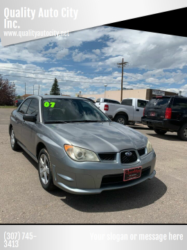2007 Subaru Impreza for sale at Quality Auto City Inc. in Laramie WY