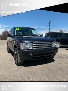 2005 Land Rover Range Rover for sale at Quality Auto City Inc. in Laramie WY