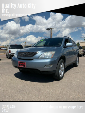 2004 Lexus RX 330 for sale at Quality Auto City Inc. in Laramie WY