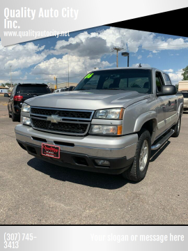 2006 Chevrolet Silverado 1500 for sale at Quality Auto City Inc. in Laramie WY