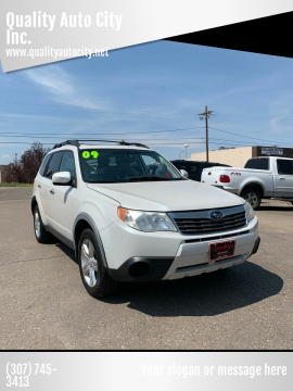2009 Subaru Forester for sale at Quality Auto City Inc. in Laramie WY