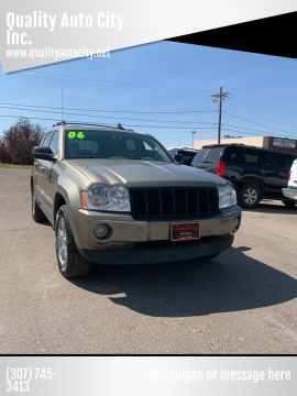 2006 Jeep Grand Cherokee for sale at Quality Auto City Inc. in Laramie WY