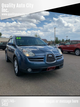 2006 Subaru B9 Tribeca for sale at Quality Auto City Inc. in Laramie WY