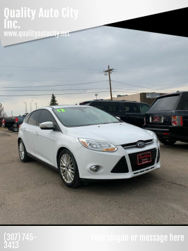 2012 Ford Focus for sale at Quality Auto City Inc. in Laramie WY