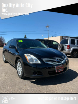 2012 Nissan Altima for sale at Quality Auto City Inc. in Laramie WY