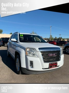 2011 GMC Terrain for sale at Quality Auto City Inc. in Laramie WY