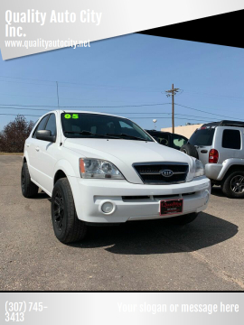 2005 Kia Sorento for sale at Quality Auto City Inc. in Laramie WY