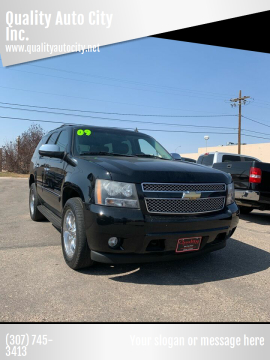 2009 Chevrolet Tahoe for sale at Quality Auto City Inc. in Laramie WY