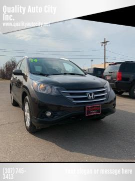 2014 Honda CR-V for sale at Quality Auto City Inc. in Laramie WY