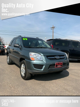 2009 Kia Sportage for sale at Quality Auto City Inc. in Laramie WY