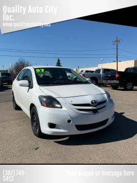 2007 Toyota Yaris for sale at Quality Auto City Inc. in Laramie WY