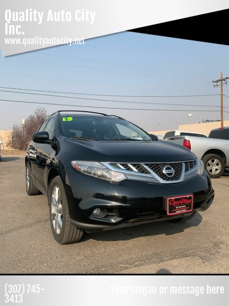 2013 Nissan Murano for sale at Quality Auto City Inc. in Laramie WY