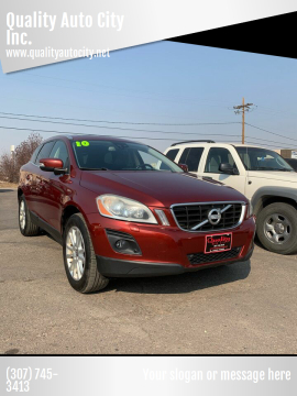 2010 Volvo XC60 for sale at Quality Auto City Inc. in Laramie WY